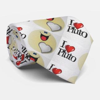 Amo Plutón Corbatas Personalizadas