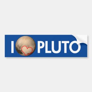 Amo Plutón Pegatina Para Auto