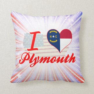 Amo Plymouth, Carolina del Norte Cojin