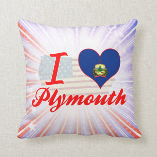 Amo Plymouth, Vermont Cojines