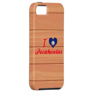 Amo Pocahontas, Virginia iPhone 5 Carcasa