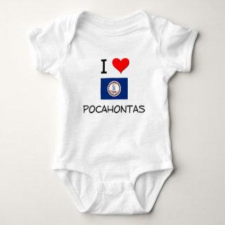 Amo Pocahontas Virginia Playeras