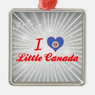 Amo poco Canadá, Minnesota Adorno De Navidad