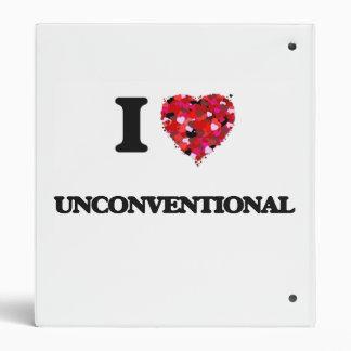 "Amo poco convencional carpeta 1"""
