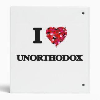 """Amo poco ortodoxo carpeta 1"""""""