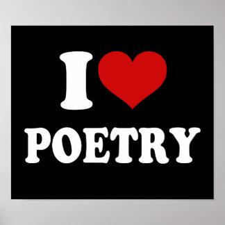 Amo poesía impresiones