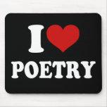 Amo poesía tapetes de ratones