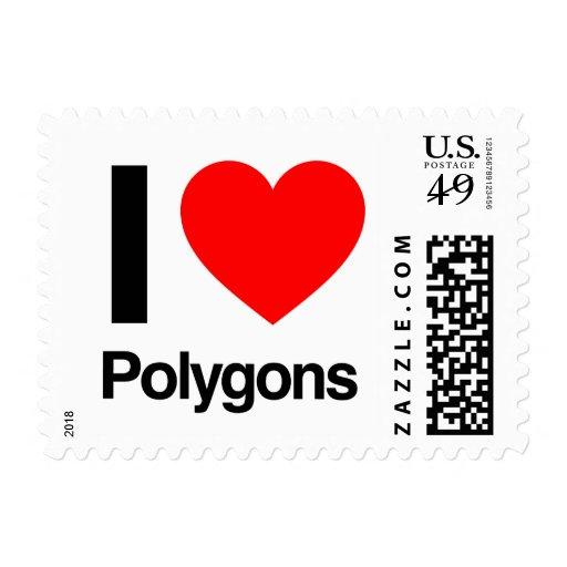 amo polígonos franqueo