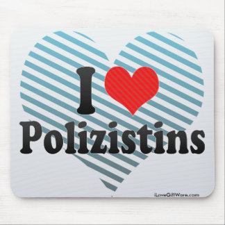 Amo Polizistins Mouse Pad