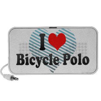 Amo polo de la bicicleta laptop altavoz