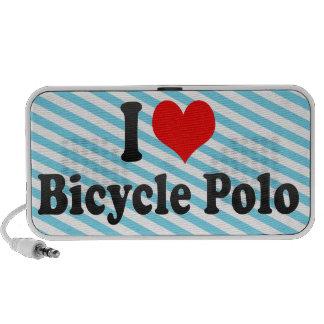 Amo polo de la bicicleta mp3 altavoz