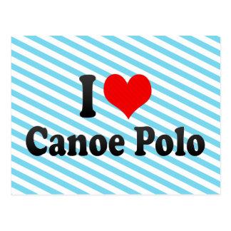 Amo polo de la canoa postal
