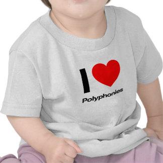 amo polyphonies camiseta