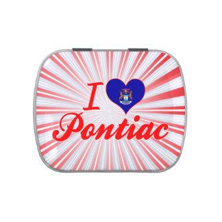 Amo Pontiac, Michigan Frascos De Dulces