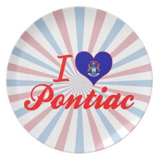 Amo Pontiac, Michigan Plato De Cena