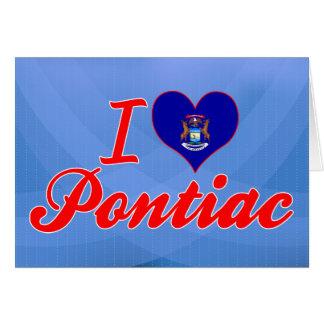 Amo Pontiac, Michigan Tarjetón