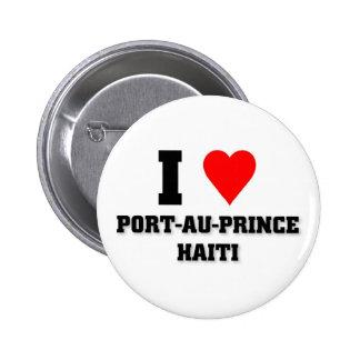 Amo Port-au-Prince Pin Redondo De 2 Pulgadas