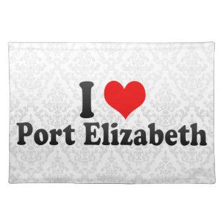 Amo Port Elizabeth, Suráfrica Manteles