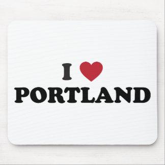 Amo Portland Oregon Alfombrilla De Raton