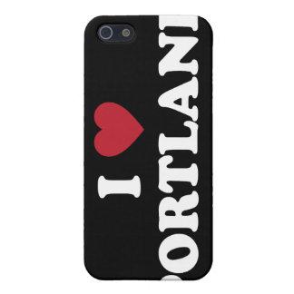 Amo Portland Oregon iPhone 5 Carcasa
