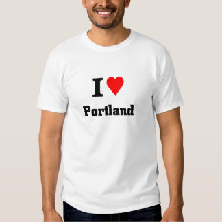 Amo Portland Remeras