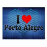 Amo Porto Alegre, el Brasil Tarjeta Postal
