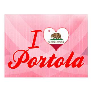 Amo Portola, California Postal