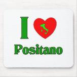 Amo Positano Italia Tapete De Ratón