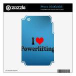 Amo Powerlifting Calcomanías Para iPhone 3G