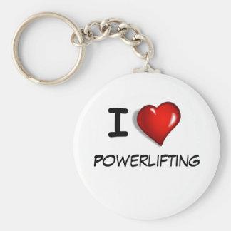 Amo Powerlifting Llaveros