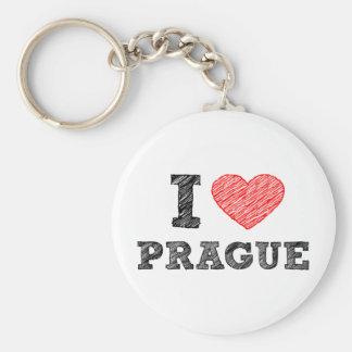 Amo Praga Llavero