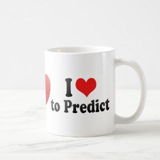 Amo predecir taza