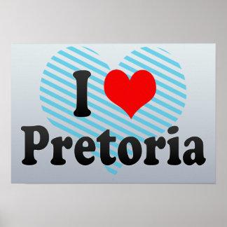 Amo Pretoria Suráfrica Impresiones
