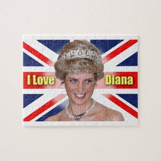 """""""Amo princesa Diana de HRH de Diana"""" Puzzles"""