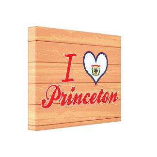 Amo Princeton, Virginia Occidental Impresiones En Lona
