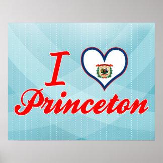 Amo Princeton, Virginia Occidental Impresiones