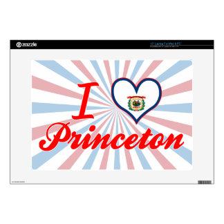 Amo Princeton, Virginia Occidental Calcomanías Para 38,1cm Portátiles