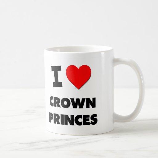 Amo Príncipes herederos Tazas