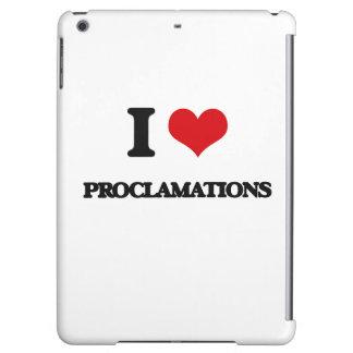 Amo proclamaciones