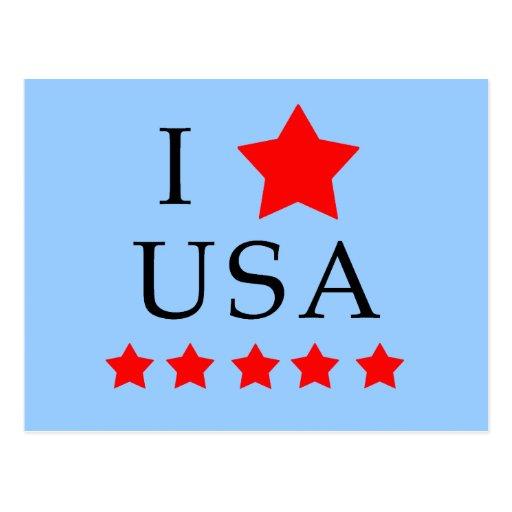 Amo productos de los E.E.U.U. Postal