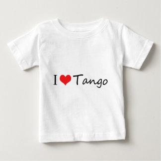 ¡Amo productos frescos del tango! Playera De Bebé