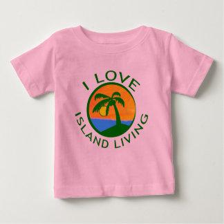 Amo productos vivos de la isla remera