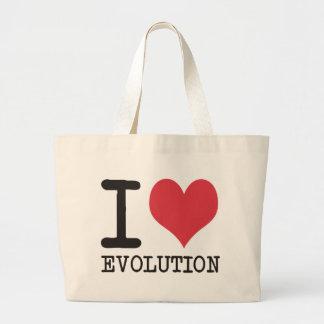 ¡AMO productos y diseños de la evolución! Bolsa De Tela Grande