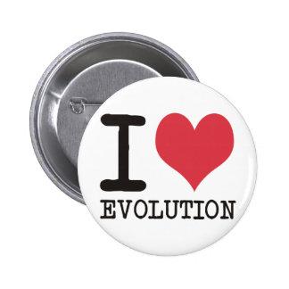 ¡AMO productos y diseños de la evolución! Pin Redondo De 2 Pulgadas
