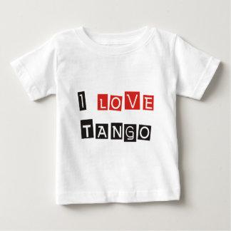 ¡Amo productos y diseños del tango! Playera De Bebé