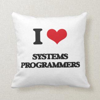 Amo programadores almohadas