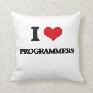 Amo programadores cojin