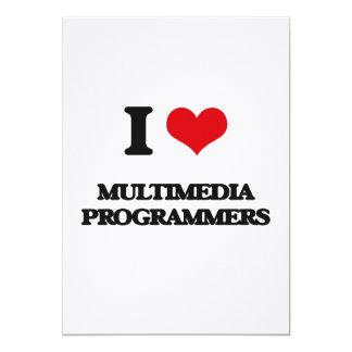 Amo programadores de las multimedias invitación