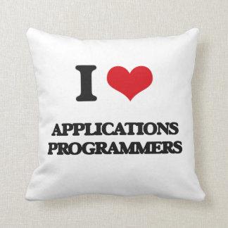 Amo programadores de los usos cojin