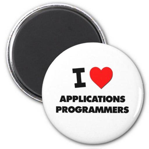 Amo programadores de los usos imán redondo 5 cm